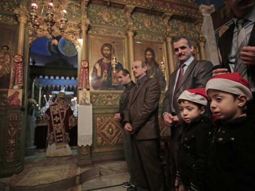 Các Kitô Hữu Giáo Hội Chính Thống Mừng Lễ Giáng Sinh
