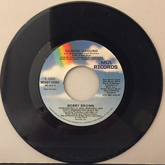 BOBBY BROWN:HUMPIN' AROUND(RECORD SIDE-A)