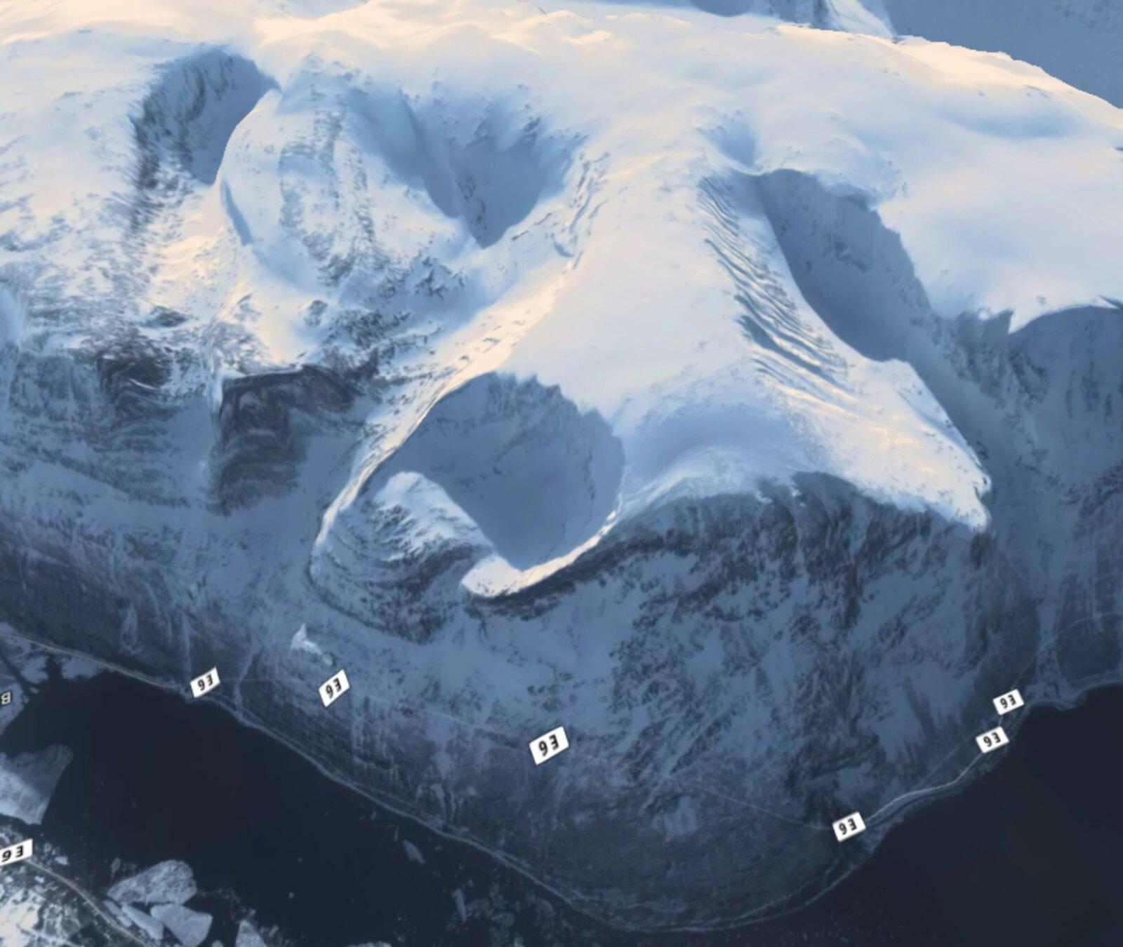 Icy elevation