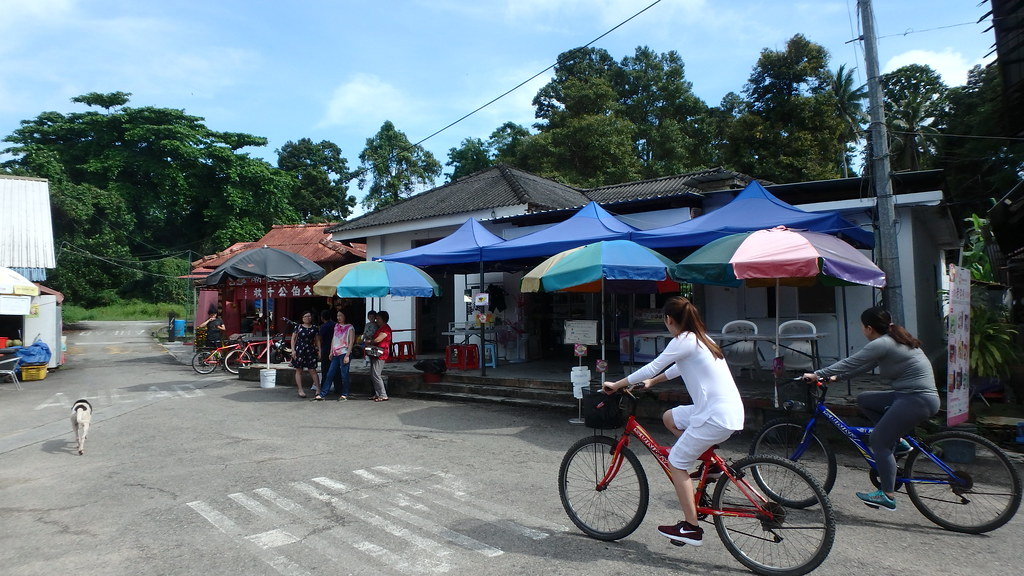 Uncle Lim's shop at no. 42 Pulau Ubin