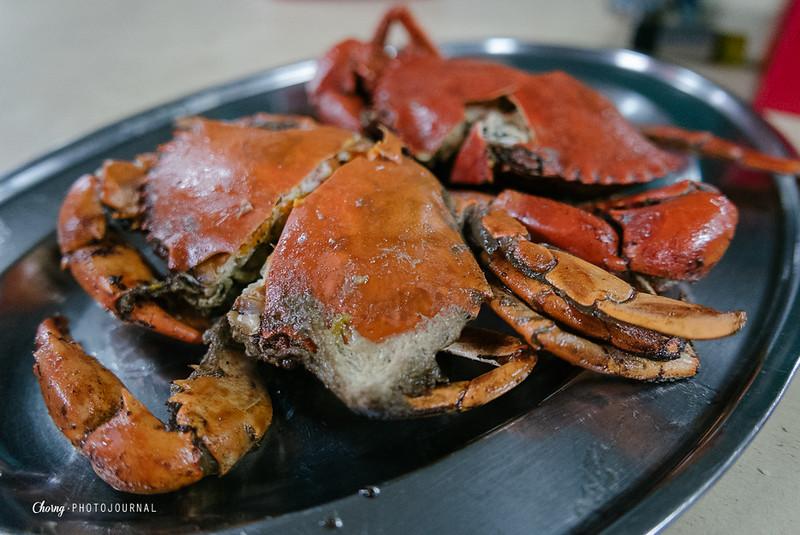 Salted bake crab sekinchan