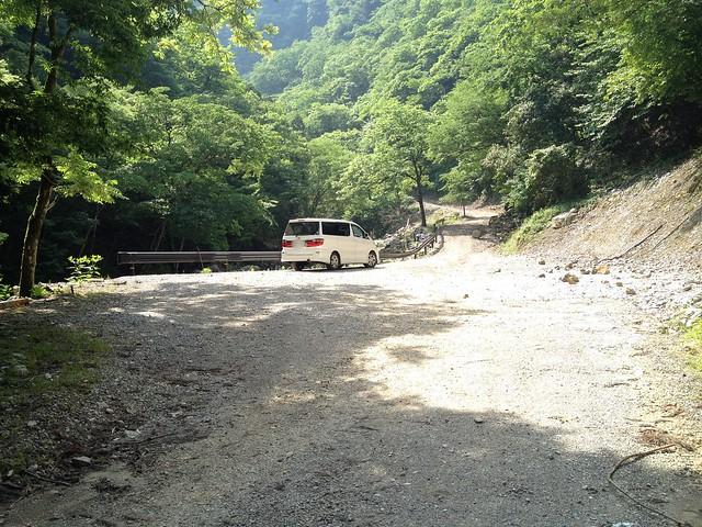 霊仙山 足良駐車場