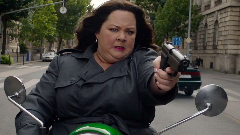 SPY wouldn't even be the pretty good comedy it is without the ample talents of Melissa McCarthy.
