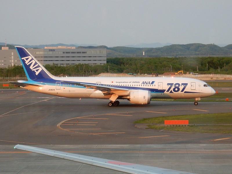 ANA B787-8 Dreamliner JA821A / CTS