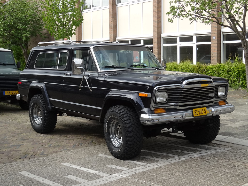 White Jeep Wagoneer >> 1979 Jeep Cherokee Chief | The first generation of the Chero… | Flickr