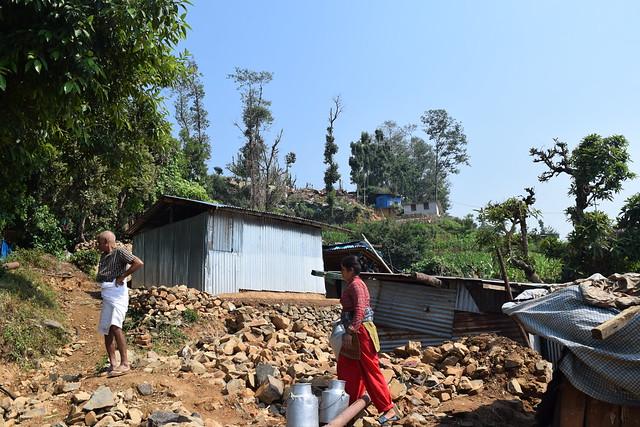 Bhatedanda village, in South Lalitpur Nepal