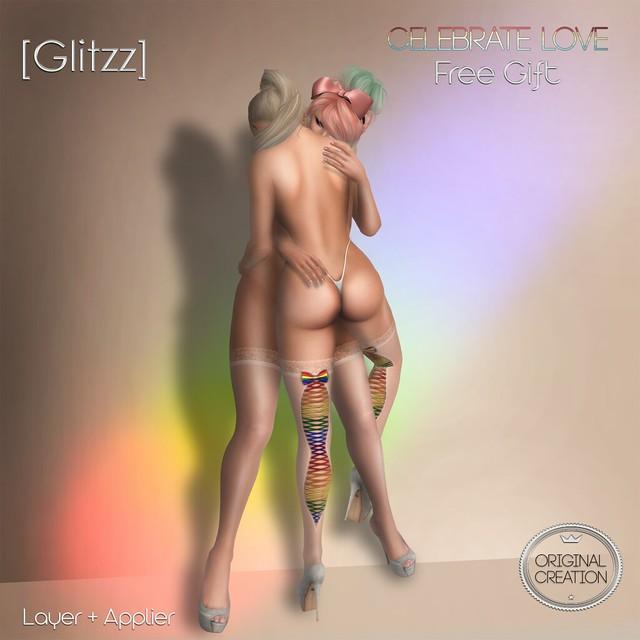 [Glitzz] Lovely Stocking-Display