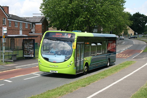 Arriva Southern Counties 4292 on Route 91, Goldsworth Park