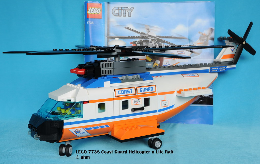 ... LEGO 7738 Coast Guard Helicopter n Life Raft | by KatanaZ