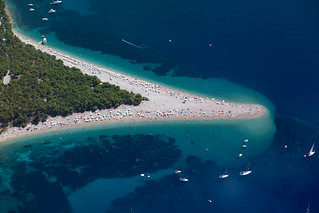 Famous beach on Brac island, near the town of Bol. You'll see this beach on many postcards. | by Ikrеis