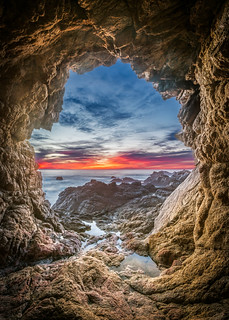 Garrapata Sea Cave - Big Sur, CA | by Axe.Man