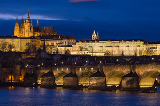 Prague by night | by dominique cappronnier