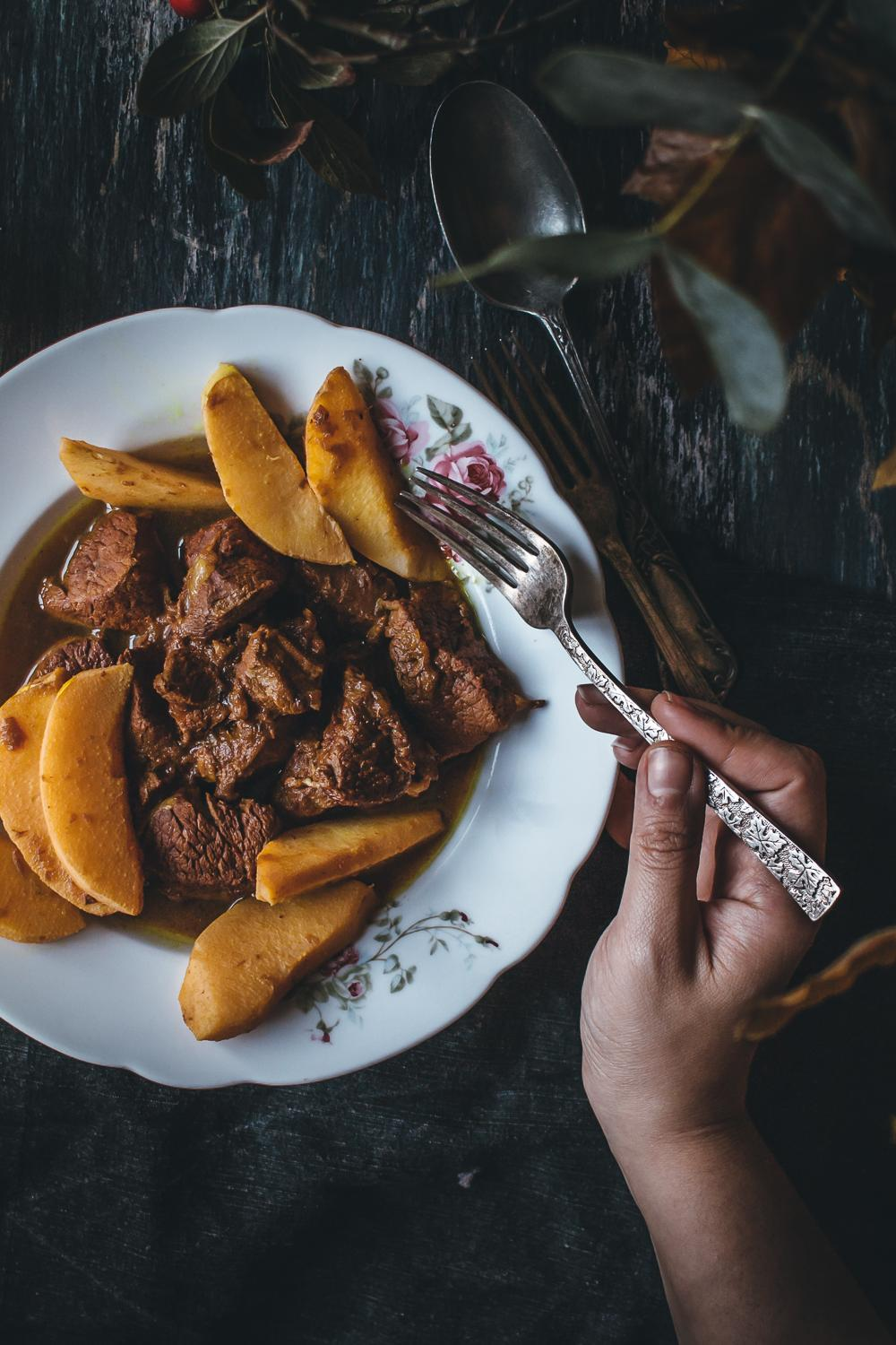 Persian Quince Stew | Lab Noon by Saghar Setareh-11