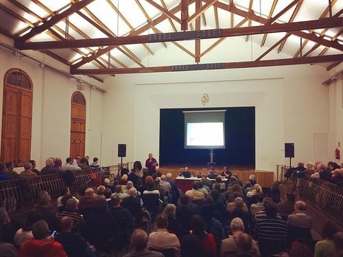 Presentació del projecte d'Agroparc @AmetllerOrigen a #SantLlorenç d'#Hortons #Penedès