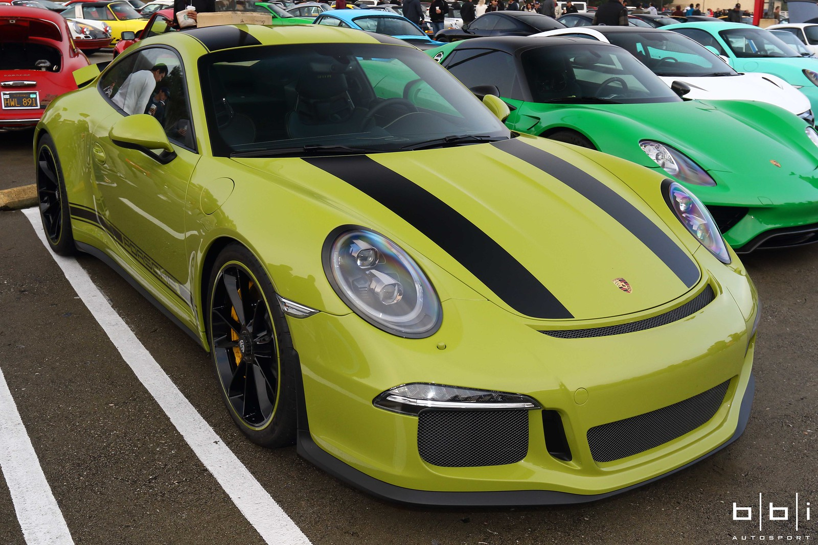 Graham Rahal S Pts Lindgr 252 N Porsche 911 R Arrives Bbi