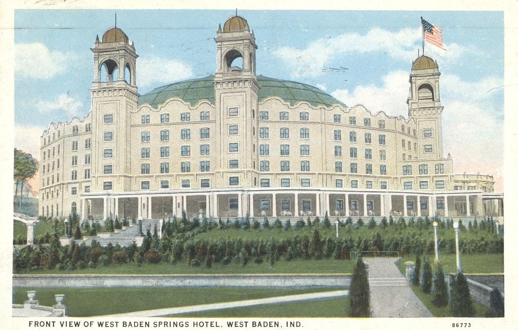 West Baden Springs Hotel - West Baden, Indiana