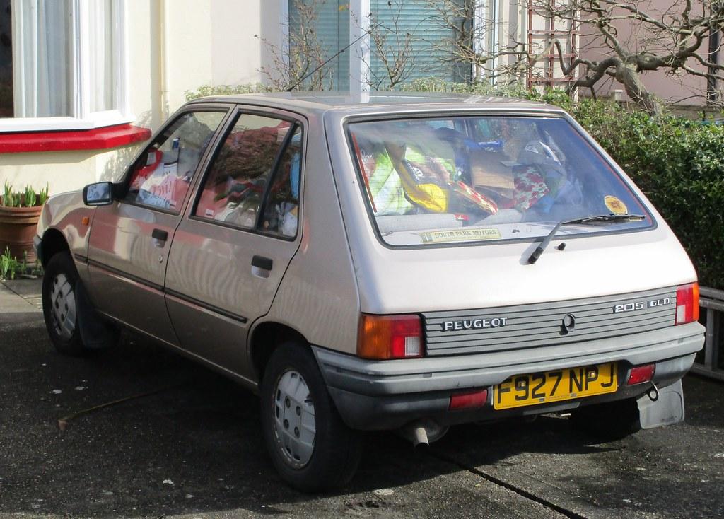 1988 Peugeot 205 Gld 5 Door