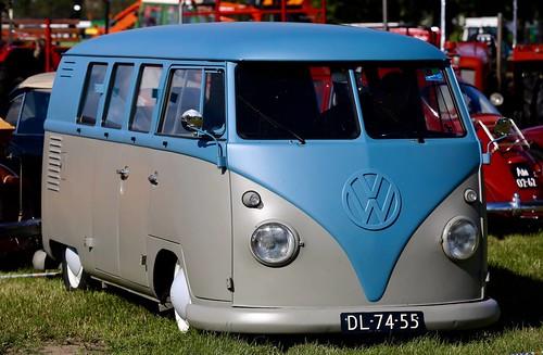 DL-74-55 Volkswagen Transporter bestelwagen 1961