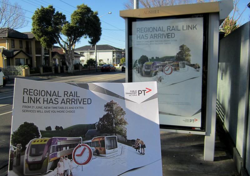 Regional Rail Link promotion