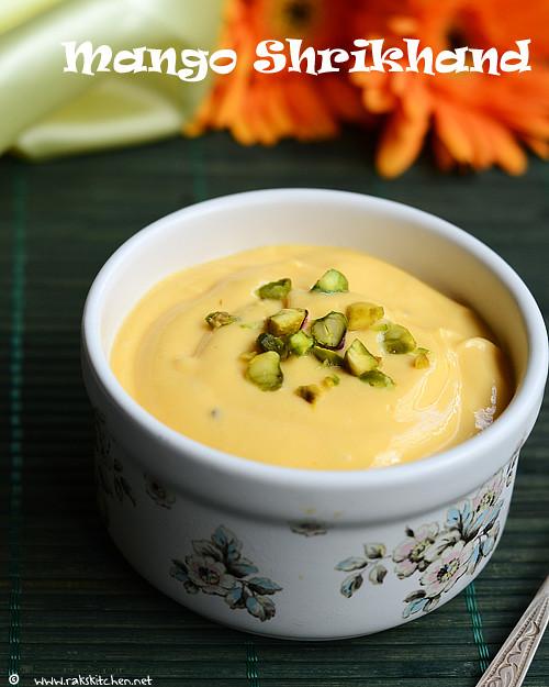 Mango shrikhand recipe | Amrakhand recipe | Rak's Kitchen