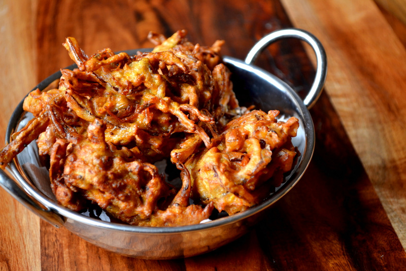 How To Make Carrot Bhajis