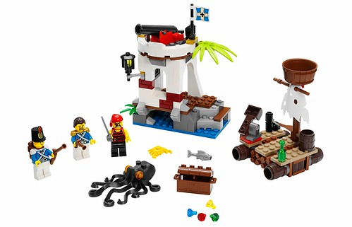 LEGO Pirates 70410 Soldiers Outpost 00