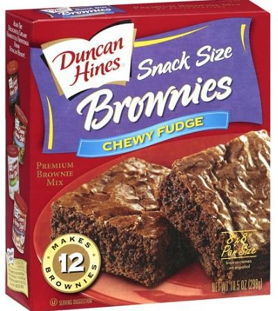 Snack Size Brownie Mix