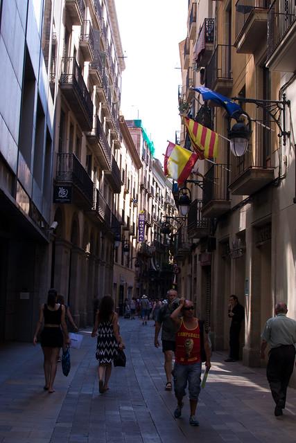 gothic quarter streets