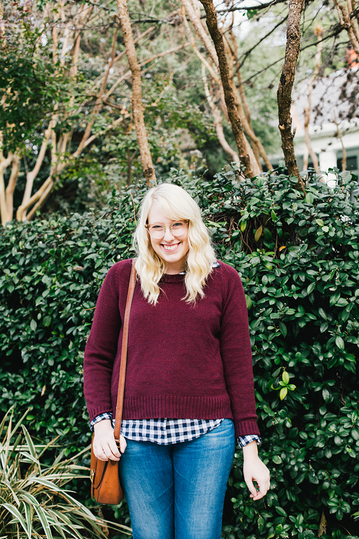 austin style blogger gingham winter outfit21