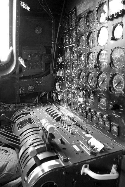 The Flight Engineer's position