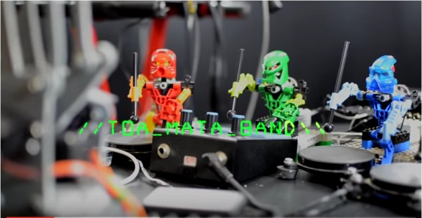 LEGO Bionicle Band Kills It Covering Kraftwerk's