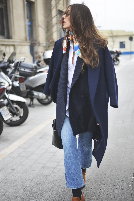 Pinstripes blazer