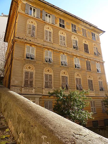 bel immeuble de Gênes