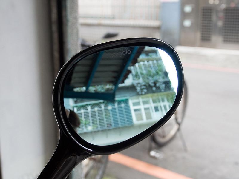 加裝新配件:防眩廣角後照鏡片組(side mirror)
