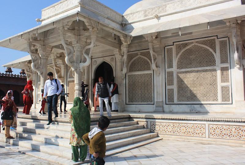 Фатехпур-Сикри усыпальница Шейха Салима