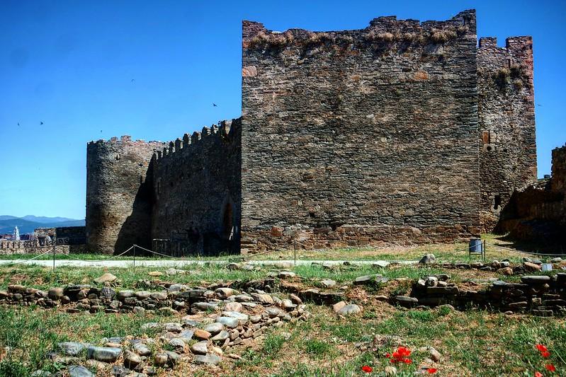 El castillo Templario de Ponferrada