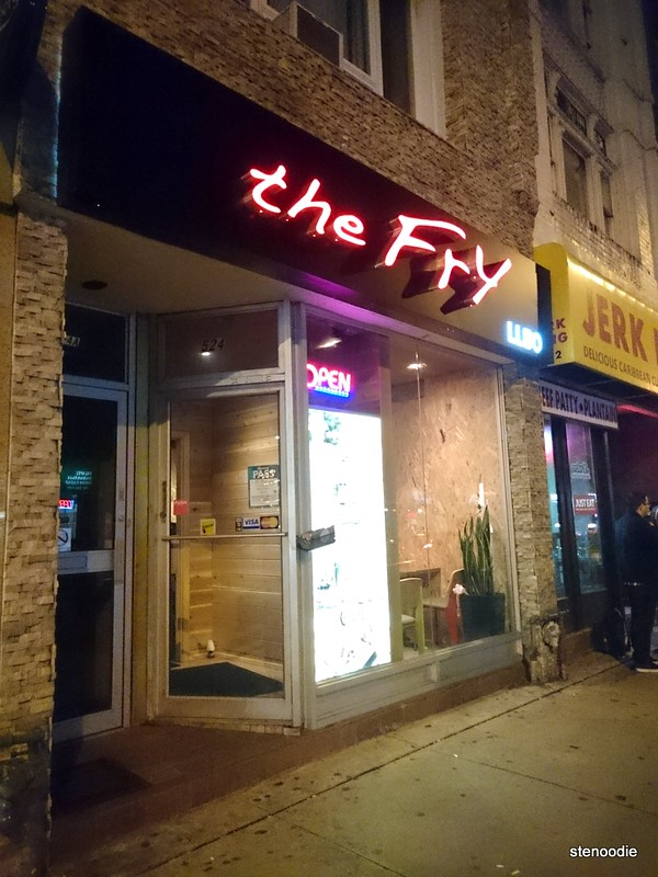 The Fry restaurant storefront