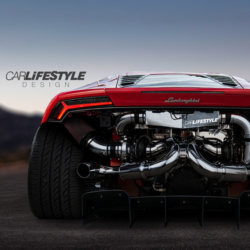 Widebody Twin Turbo Huracan Designed By Carlifestyle On