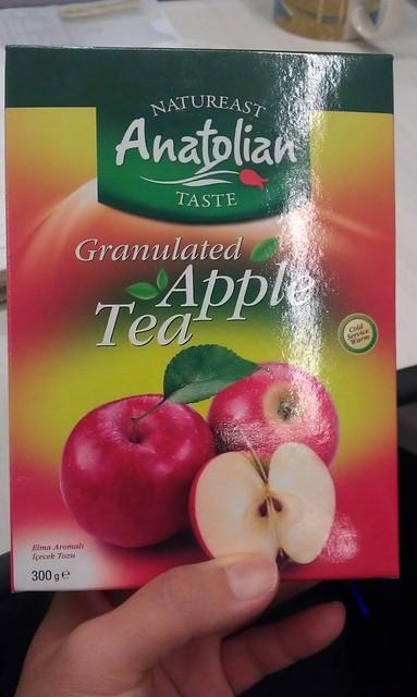 蘋果茶粉 泡熱水 冰水都 好喝 !