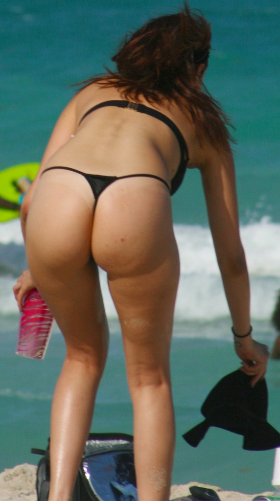 Ass big booty butt moon thong