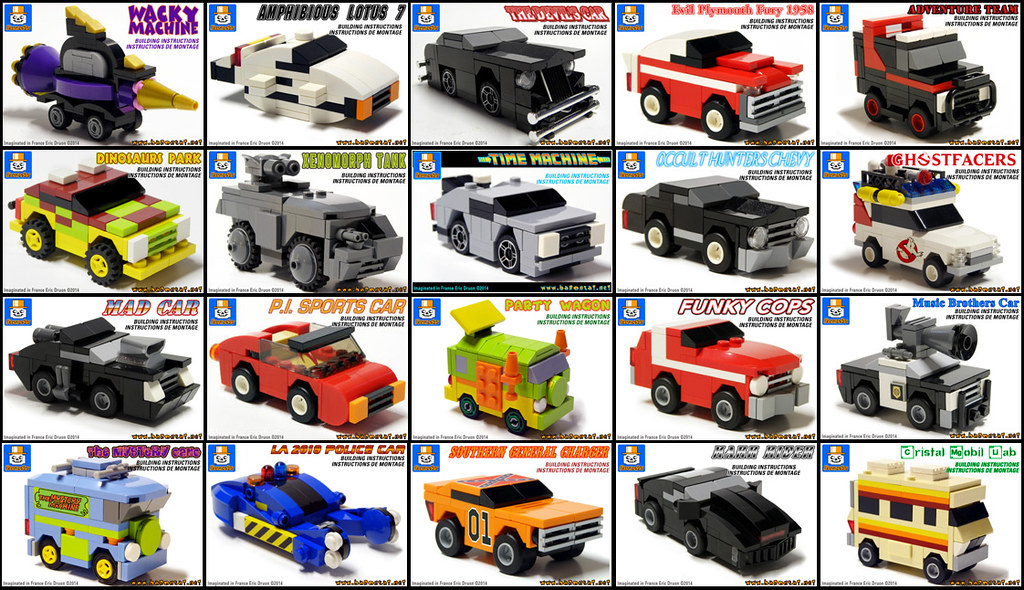 Famous Micro Lego Vehicles Instructions For My Custom Mode Flickr