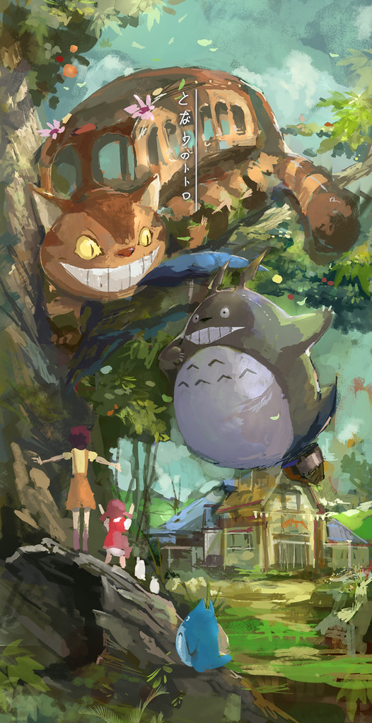 Studio Ghibli by lixiaoyaoii - My Neighbour Totoro