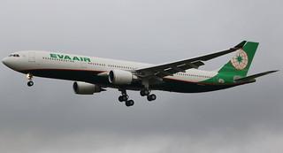 AIRBUS A330-300 EVA AIR F-WWKR MSN1767 (B-16337) A L'AEROPORT TOULOUSE-BLAGNAC LE 12 01 17