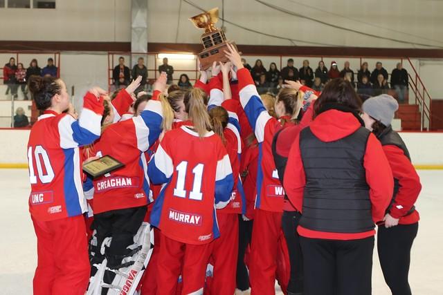 Jan 15, 2017 - EGRT Calg - U19AA Celebrates Gold!