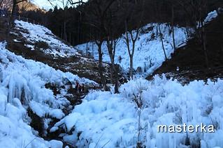 芦ヶ久保の氷柱1