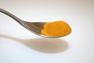 04 - Zutat Kurkuma / Ingredient turmeric