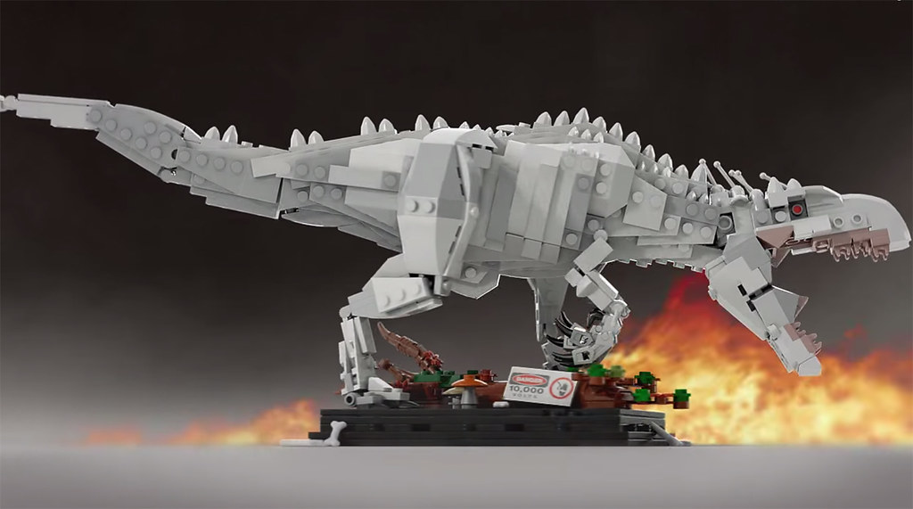... Lego Ideas | Indominus Rex | Jurassic World | By Senteosan