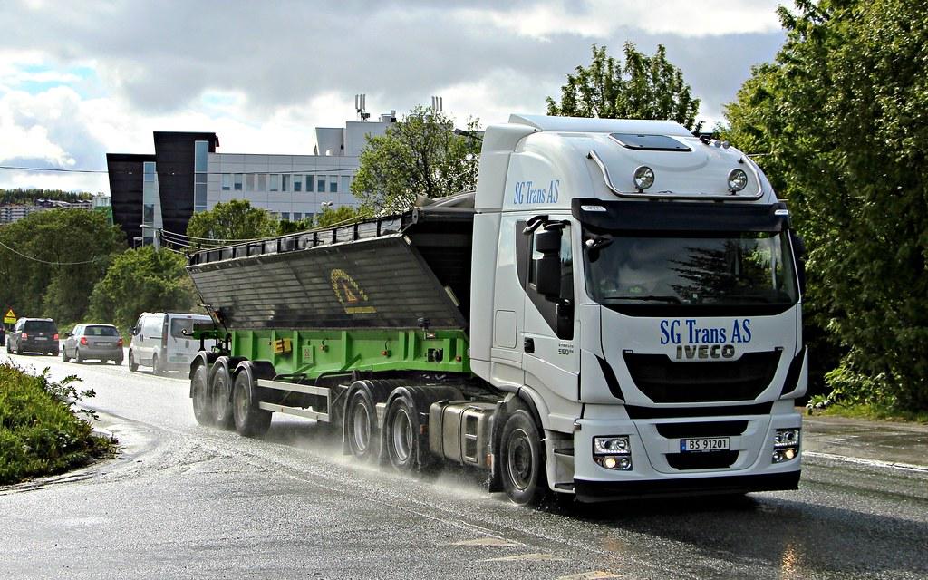 Iveco Stralis 560 Sg Trans As Tromso Norway N Bs