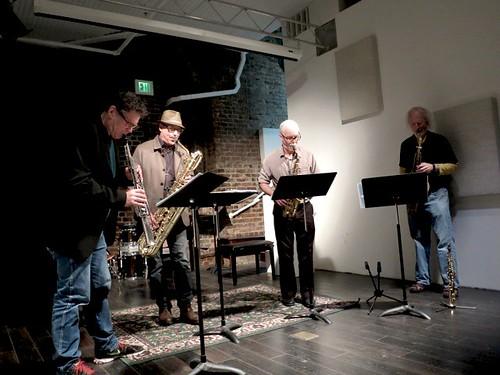 The Rova Saxophone Quartet With Henry Kaiser Daredevils
