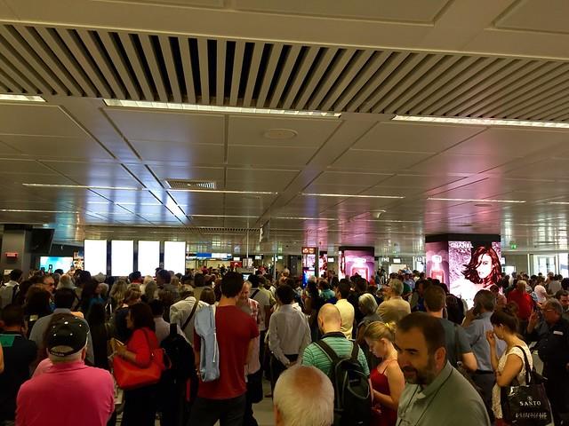FCO departure gates C